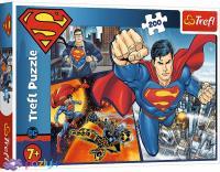 """Пазл """"Герой Супермен"""", 200 елементів Trefl Warner Superman (13266)"""