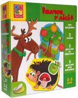 Гра-шнурівка «Їжачок у лісі», Vladi Toys, VT1804-45