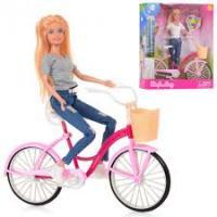 Лялька DEFA З Велосипедом 8361-BF