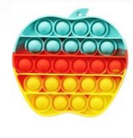 Іграшка антистрес POP IT яблуко
