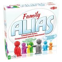 Настільна гра Tactic Alias Family укр54336