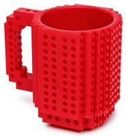 OliaDesign 1 X Чашка для кави з цеглинок рожева 12 унцій