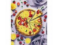 Картина за номерами КНО5594 Лимонний пиріг 40x50 см