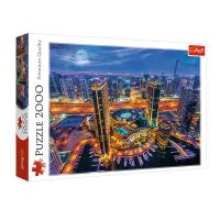 """Пазл """"Вогні міста Дубай, ОАЕ"""", 2000 елементів Trefl (27094)"""