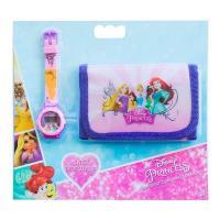 Набір цифровий годинник з гаманцем Принцеси TBL (PS32447)