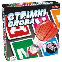 Настільна гра Стрімкі слова Tactic (54668)