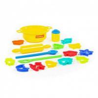 Набір дитячого посуду для випічки 18 елементів Полісся (62253)