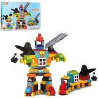 Дитячий конструктор JDLT 5352 Робот, транспорт