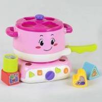 Музична іграшка Chimstar Toys Кухня-сортер Рожевий (QF 366-038)