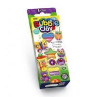 Кульковий пластилін BUBBLE CLAY 6 КВІТІВ, DANKO TOYS, BBC-01-01U