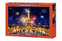 Пазл 1000 елементів C-103997 GLAMOUR OF THE NIGHT, PARIS