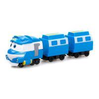 Набір Silverlit Robot trains Паровозик Кей із двома вагонами (80176)