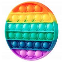 Іграшка антистрес POP IT круг, кольоровий