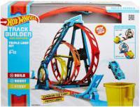 Трек Hot Wheels Track builder Потрійна петля (GLC96)