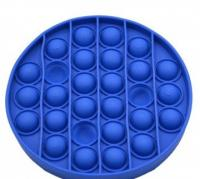 Іграшка антистрес POP IT круг, синій