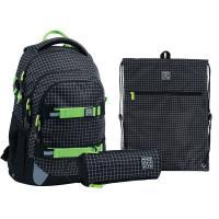 """Набір рюкзак + пенал + сумка для взуття """"Checkered"""", SET_WK21-727M-2"""