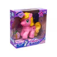 """Поні єдиноріг """"Pony Land"""" (рожевий) (804A)"""