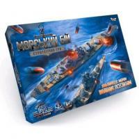 Настільна розважальна гра Морський бій. Стратегічна гра G-MB-02U