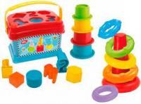 Сортер Simba Toys з пірамідкою і вежею (4010191)