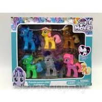 Ігровий набір Поні 6 шт My Horse Lovely Movie 5502
