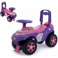 Машинка - толокар музична (0142/03) Рожево-Фіолетова