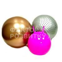Набір cенсорних м'ячів різних діаметрів з насосом f1994