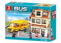 """Конструктор """"Шкільний автобус"""" M38-B0333 Sluban"""