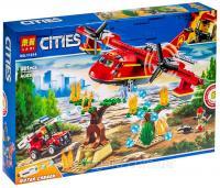Конструктор 11214 Пожежний Літак 381 lеталей