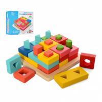 Дерев'яна іграшка Геометрика Limo Toy MD 2345