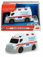 Іграшкова Машина швидкої допомоги зі світлом і звуком, 15см 3302004