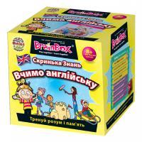 Настільна гра Винаходи BrainBox Вчимо англійську (98352)