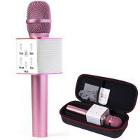 Безпровідний мікрофон для караоке Q9 Pro Pink (M1)