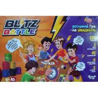 """Настільна розважальна гра """"Blitz Battle """", Danko Toys, G-BIB-01-01U"""