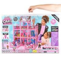 Ляльковий будиночок LOL Surprise Будинок, Замок для ляльок. ЛОЛ L.O.L. (8373)
