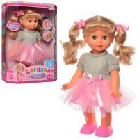 Лялька Даринка інтерактивна 32 см Limo Toy звук (укр) M4163UA