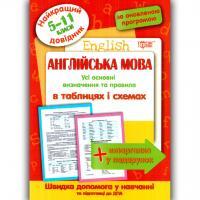 Найкращий довідник Англійська мова у таблицях і схемах 5-11 класи Авт: Погожих Р.