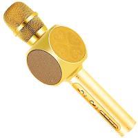 Мікрофон Bluetooth Magic Karaoke YS-63 Золотистий