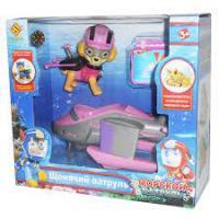Фігурки героїв Щенячий Патруль Скай CH-501 з машинкою