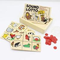 Гра звукове лото Тварини Lam Toys 4 детали + диск 1601