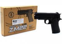Дитячий пістолет ZM22 металевий