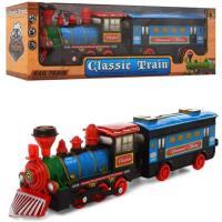 Іграшковий Поїзд з вагоном інерційний, 38 см, 837