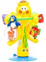 Іграшка на присосці Kiddieland Музичний восьминіг зі світлом і звуком (038190)