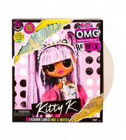 """Ігровий набір з лялькою L.O.L. Surprise! серії O.M.G. Remix """"- Королева Кітті"""""""