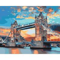 Картина по номерам - Лондонський міст (КНО3515)  40*50см