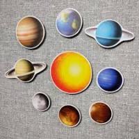 Сонячна система. Набір навчальних магнітів
