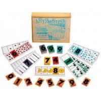 Настільна гра лото Математика Lam Toys 72 дет 5005