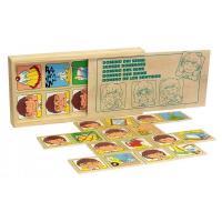 Настільна гра доміно Органи почуттів Lam Toys 20 дет 1505