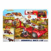 Трек Hot Wheels Monster trucks Швидкісний спуск (GFR15)