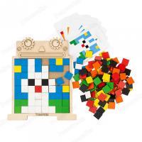 Піксельна мозаїка «Робот»