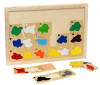 Класифікація. Змішування кольорів, LAM Toys 1319